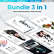 3 in 1 Bundle Modern Powerpoint Template