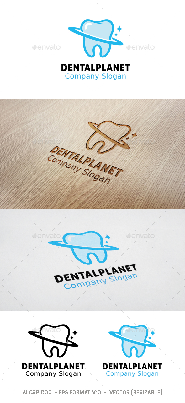 Dental Planet Logo - Symbols Logo Templates