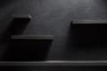 shelf and black wall wood - PhotoDune Item for Sale