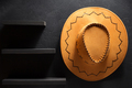 cowboy hat on wooden background - PhotoDune Item for Sale