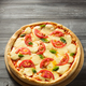 margarita pizza at wood - PhotoDune Item for Sale