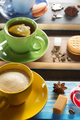 cup of coffee, cacao and tea - PhotoDune Item for Sale