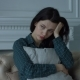 Depressed Lonely Young Woman in Domestic Room - VideoHive Item for Sale