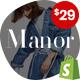 Shopify - Manor Clean, Minimal , Drag & Drop