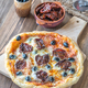 Pizza with sun-dried tomatoes  - PhotoDune Item for Sale