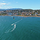 Kitesurfing on Mediterranean Sea Landscape in Spain - VideoHive Item for Sale