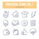 Universal Doodle Icons vol.7 - GraphicRiver Item for Sale