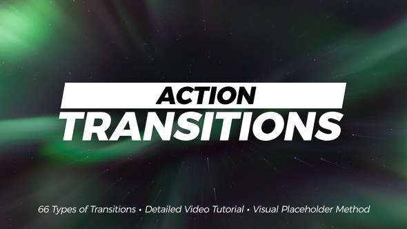Action Transitions for Premiere - Hàng bản quyền