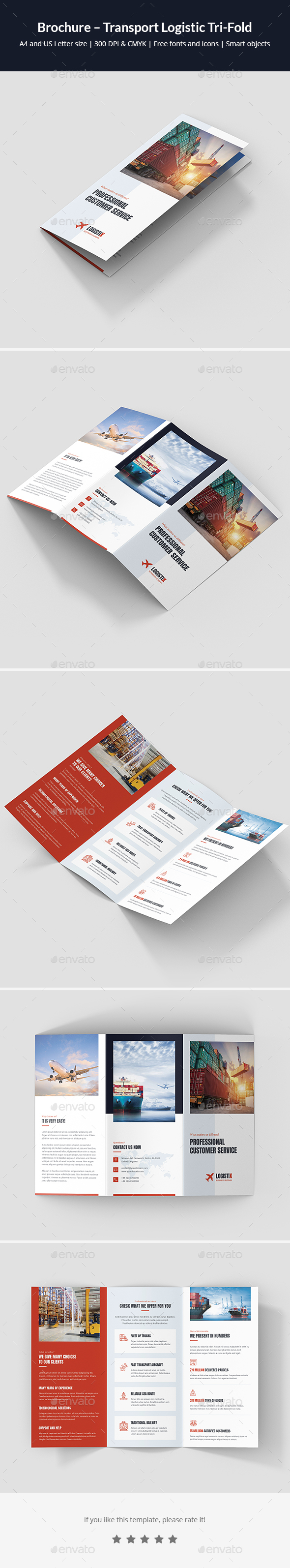 Brochure – Transport Logistic Tri-Fold - Corporate Brochures