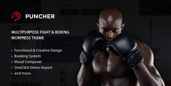 Image of Puncher - Responsive Multipurpose WordPress Theme