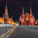 Red square by night in Moscow - PhotoDune Item for Sale