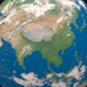 Asia from space - VideoHive Item for Sale