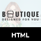 Boutique – eCommerce HTML5 Responsive Template
