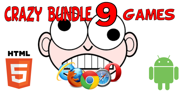 Crazy Bundle HTML5 Games (CAPX) - CodeCanyon Item for Sale