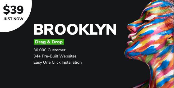 Brooklyn | Creative Multipurpose Responsive WordPress Theme - Creative WordPress