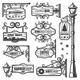 Vintage Street Lanterns Labels Set - GraphicRiver Item for Sale