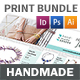 Handmade Shop Print Bundle - GraphicRiver Item for Sale