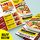 Trifold - Food Menu Template - GraphicRiver Item for Sale