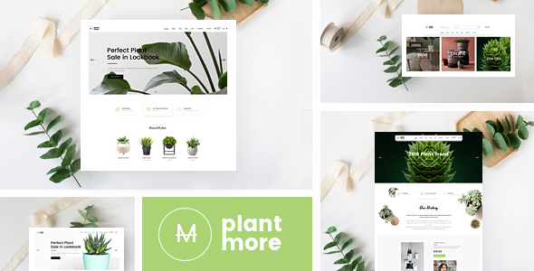 Plantmore - Responsive Theme for WooCommerce WordPress - WooCommerce eCommerce