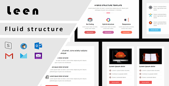 leen responsive email template + stampready builder with email on acid test result (email templates) Leen Responsive Email Template + Stampready Builder with Email On Acid test result (Email Templates) 01 preview