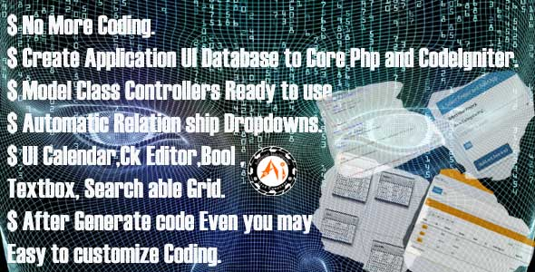 AI PHP CRUD Generator (Create ERP Hrms Cms All type php software) Generate PHP Application - CodeCanyon Item for Sale
