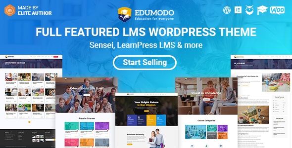 Image of Edumodo - Education WordPress Theme
