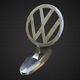 volkswagen hood ornament - 3DOcean Item for Sale