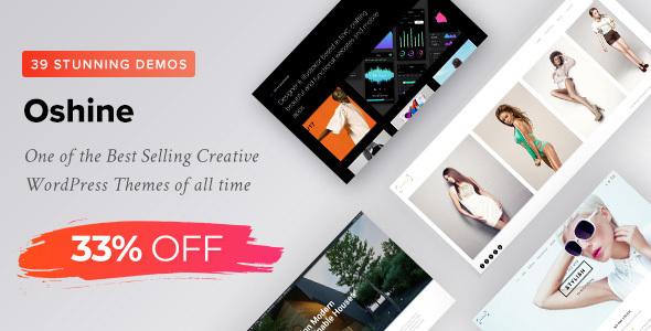 Oshine - Multipurpose Creative Theme