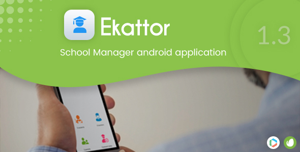 Ekattor School Manager Android Application - CodeCanyon Item for Sale