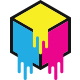 CMYK Box Printer Logo