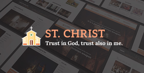 St. Christ – Church & Charity Joomla Template