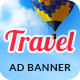 Online Travel Booking AD Banner 09