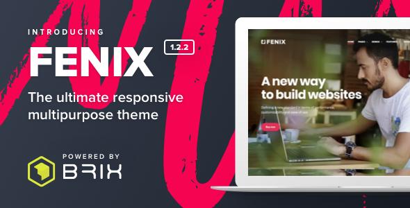 Fenix - Responsive Multi-Purpose WordPress theme - Creative WordPress