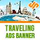 Traveling Ad Banners - AR - GraphicRiver Item for Sale
