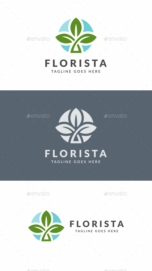 Leaf Tree - Nature Logo Templates