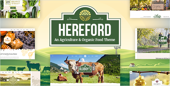Hereford - An Agriculture and Organic Food Theme