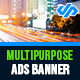 Multipurpose Ad Banners - AR - GraphicRiver Item for Sale