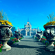 Flower Park And Castle - VideoHive Item for Sale