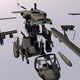UH-60 Blackhawk Helicopter  for 3d elements - 3DOcean Item for Sale