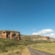 Road and landscape between Clarens and Golden Gate - PhotoDune Item for Sale