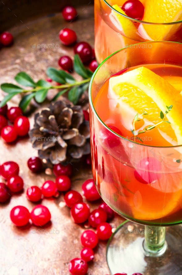Mulled wine drink - Stock Photo - Images