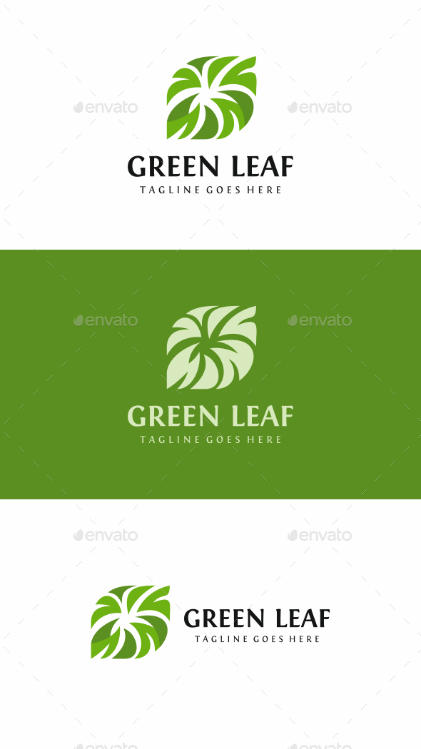 Green Leaf - Nature Logo Templates