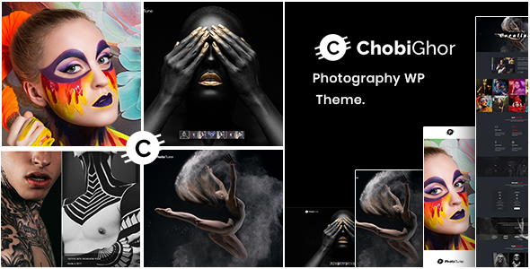Image of Chobighor - Creative Photography WordPress Theme