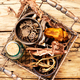 Set of roots of medicinal plants - PhotoDune Item for Sale