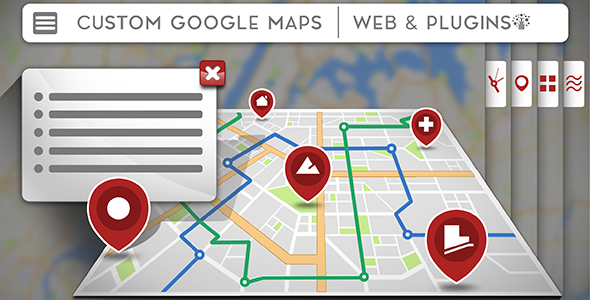 UTD Google map - Customizable Google Maps for WordPress - CodeCanyon Item for Sale