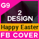 Happy Easter Facebook Cover - GraphicRiver Item for Sale