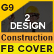 Construction Business Facebook Cover - GraphicRiver Item for Sale