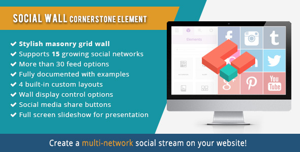 Social Wall extension for Cornerstone - CodeCanyon Item for Sale