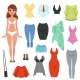 Womens Clothing Items Set