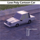 Low Poly Cartoon Car - 3DOcean Item for Sale